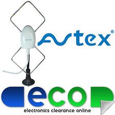 Avtex Portable 1224 V Digital TV Aerial Antenna Caravans HGV Boats & Motorhomes