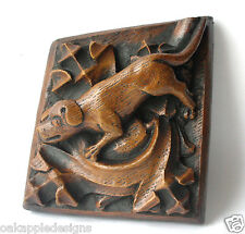 Medieval Hunting Hound Dog Oak Carving Ripon Cathedral Hand Made Unique Giftware