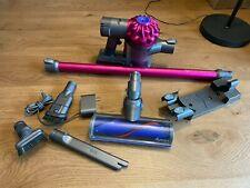 Dyson V6 Motorhead+ Plus Cordless Vacuum Cleaner 🔥 Fuchsia Extra Tools & Mount