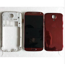 Red Full Housing LCD Screen Touch Digitizer for at&t Samsung Galaxy S4 i337