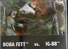 Boba Fett vs IG-88 Shadows of Empire unopened Stat Wars Kenner Action Figures