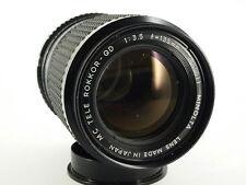 MINOLTA ROKKOR-QD TELE Objektiv Lens 135/3.5 Minolta MC