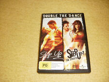 STEP UP 1 dance 2006 + STEP UP 2 music 2008 = 2 DVD drama R4