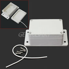 1 Pc Waterproof Plastic Electronic Project Box Enclosure Instrument Case DIY