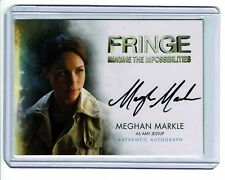 2012 MEGHAN MARKLE Autograph Auto signed card - DUCHESS of SUSSEX - FRINGE