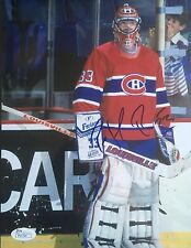 PATRICK ROY JSA Certified SIGNED  Montreal Canadiens 8X10 PHOTOGRAPH