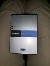 Linksys PowerLine AV Ethernet Adapter Kit PLEBR10 CISCO SYSTEMS PREOWNED
