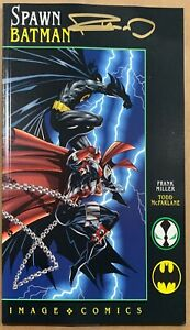Spawn Batman SIGNED BY FRANK MILLER With COA. NM- Or Better