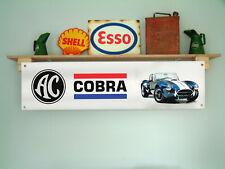 AC Cobra banner per Workshop Garage o classica car show uso di visualizzazione