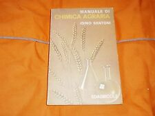 igino santoni manuale di chimica agraria edagricole 1979