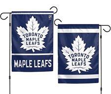 Toronto Maple Leafs WC Garden Flag Premium 2-Sided Outdoor House Banner Hockey
