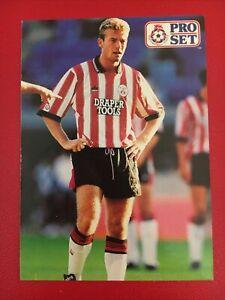 PRO SET 1991 Card -ALAN SHEARER - SOUTHAMPTON - ROOKIE - MINT - #111