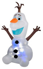 Christmas Inflatable 8' Projection SNOWFLURRY Olaf the Snowman FROZEN MOVIE