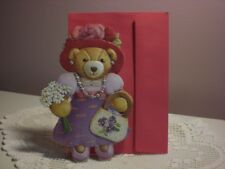 Carol's Rose Garden - Mother's Day - with a Lady Bear with purse on the cover