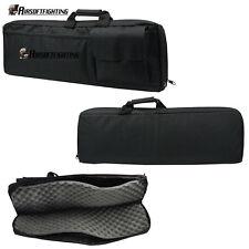 "85cm/33"" Padded Rifle Gun Case Bag Shotgun Backpack Hunting Case Tactical Black"