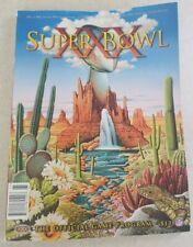 NFL Super Bowl XXX 30 Official National Program Dallas Cowboys vs Steelers
