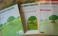LE PIETRE BIANCHE VOL.1 (IN 3 VOLUMI) x MEDIE - A.BARABINO N.MARINI - SEI