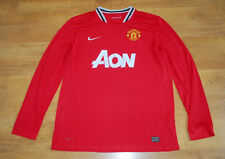 Nike Manchester United 2011/2012 home long-sleeved shirt (Size XL)