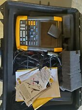 Fluke 190 204 Series Ii 4 Channel 200 Mhz Scope With 1001 Probes Amp Software