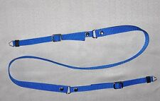 BLUE CLASSIC W 15mm RING END SHOULDER NECK STRAP FOR DIGITAL CAMERA NEW
