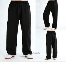 Cotton Linen Blend Kung fu Tai chi pants Martial arts Wushu Wing Chun Trousers