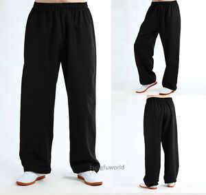 Cotton Linen Blend Kung fu Tai chi pants Martial arts Wushu Wing Chun Trousers