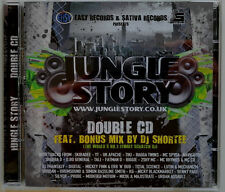 2 x CD UK**VARIOUS - JUNGLE STORY (SATIVA RECORDS UK '08 / COMPILATION)***CD1104