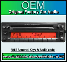 Porsche 911 (993) Turbo Radio Becker Grand Prix BE 2237 CD player stereo code