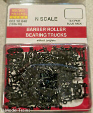 Micro-Trains N-Scale, Barber Roller Bearing Trucks #1036-10