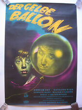 DER GELBE BALLON - YELLOW BALLOON - Poster Plakat - Gerollt