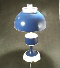 TOLE CANISTER HURRICANE lamp. Large Cottage Chic  Mid-Century
