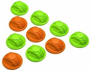 Axial AX12014 Gate Marker Set Green / Orange (10)