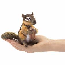 Folkmanis Fingerpuppe Streifenhörnchen mit Eichel