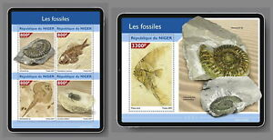 NIGER 2021 ** Fossilien Fossiles Fossils #15-102baB