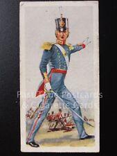 Single FOOT ARTILLERY 1846 No.13 'HISTORY of ARMY UNIFORMS' Carreras Ltd 1937