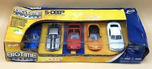 Jada BigTime Muscle 5 Deep Diecast Chevy Camaro Collection 1:64 5-DEEP SET