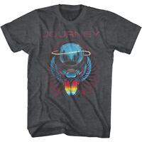 Journey Best of Album Cover Art Beetle Planet Men's T Shirt Rock Band Tour Merch