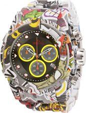New Mens Invicta 31622 Bolt Swiss Quartz 53mm White Aqua Watch