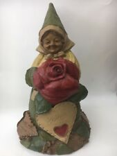 Tom Clark Gnome Mother with Love Rose Heart #5282 Edition #87 Cairn