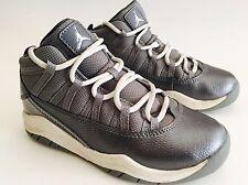 AIR JORDAN Kids Boys High Top Athletic Basketball Shoes Sneakers Size 11 Gray