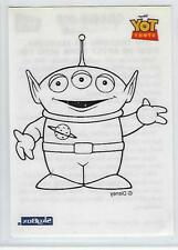 TOY STORY  trading cards (SkyBox 1996) - Color me Iron on Card #5 of 6.