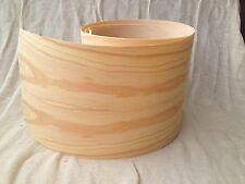 Iron on Pre Glued Pine Real Wood Veneer Sheet  2540mm x 250mm