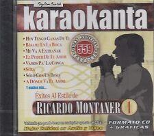 Ricardo Montaner 1 Karaokanta Karaoke Nuevo Sealed