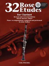 Rose 32 Etudes for Clarinet - Book/Online Media WF85
