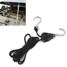 Auto 1,5 Mt Nylon Seil Ratsche Werkzeug Zubehör mit 2 Stücke Haken für PDR Haube