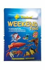 Tropical Weekend Food 20g Holiday Aquarium Fish Food - Aussie Seller