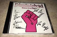 Diminish3d Memory Of An Enemy Cd Rare Oop 2006 Rock Pop Punk Autographed
