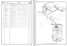 Cessna 320 310 Skyknight parts service manual 1960's HISTORIC PERIOD ARCHIVE