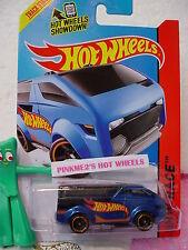 Case B 2015 i Hot Wheels THE VANSTER #128∞Blue; Orange rim mc5∞HW RACE TEAM