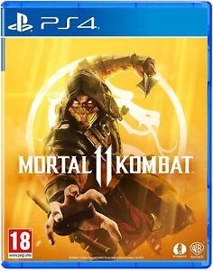Mortal Kombat 11 Sony Playstation 4 PS4 Game